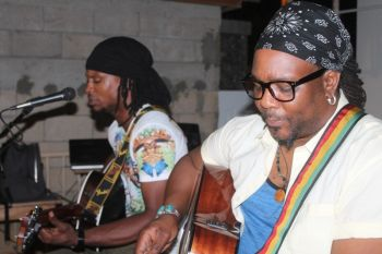 Omari A. Banks at The Fantasea, Duff's Bottom, Tortola on July 2, 2014. Photo: VINO