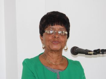 Educator and Co-President of the BVI Reading Council (BVIRC), Ms H. Lynden Smith announced that the Council, in selecting recipients of the BVIRC International Literacy Day Award, is now accepting any student who has overcome whatever challenges they have and have succeeded in life. Photo: VINO