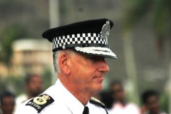 United Kingdom national and Commissioner of Police Mr Michael B. Matthews, has repeatedly defended the actions of his officers. Photo: VINO/File
