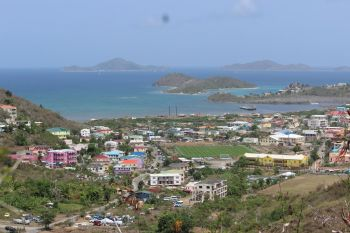A section of East End, Tortola, Virgin Islands. Mr E. Benito Wheatley, the Virgin Islands (VI) Special Envoy for the Government, has hailed the United Nations Development Programme (UNDP) as a key partner in supporting the territory's recovery and development after the hurricanes of 2017. Photo: VINO