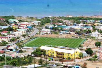 Mr Giovanni V. Infantino, the President of the Fédération Internationale de Football Association (FIFA), is scheduled to visit the FIFA-funded East End/Long Look Stadium on Tortola during his brief visit to the Virgin Islands today, August 11, 2019. Photo: VINO