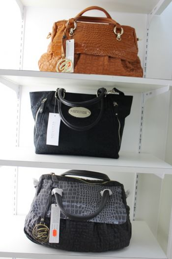 Hazem's also has a variety of ladies bags in stock. Photo: VINO