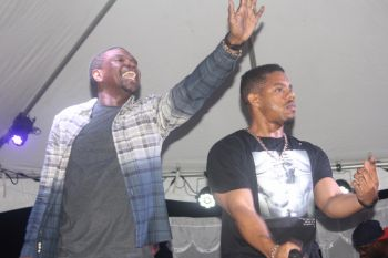 They performed hits from their 2015 album 'What Dreams Are Made Of'. These included Locked Away, Make Up, I'm That, Checking For You, Crazy Love and a host of others, inclusive of their original creations and covers and adaptations of many well known contemporary and reggae/dancehall hits from a range of artists across multiple genres. Photo: VINO