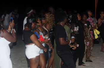 A section of the crowd during the second night of BVI Spring Fest. Photo: VINO