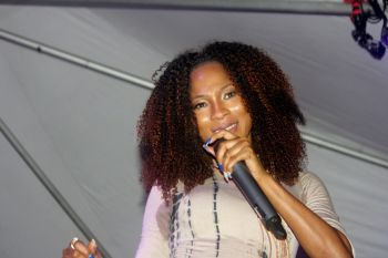 She performed a number of hits which have become popular among soca lovers over the years. These included 'Take A Whine Pun Somebody', 'Till Ah Old And Grey', 'We Gon Jump up For De Carnival' and 'Temper Whine'.Photo: VINO
