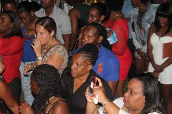 Some of the Virgin Gorda people at the show. Photo: VINO