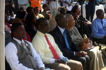 A section of the attendees during the ceremony. Photo: VINO