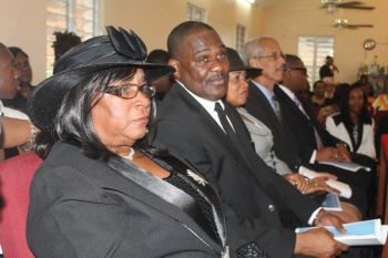The family of the late Mr Reeial A. George express their heartfelt appreciation of the outpouring of love, warmth, well wishes, hugs and prayers that were bestowed upon them during this time of bereavement. Photo: VINO