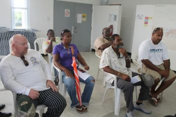 Most of the businessmen who have signed on to participate in the 'Adventure' aspects of Lobster Festival 2013 at Anegada said they are very optimistic about a successful outcome. Photo: VINO