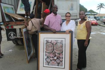 Peter Island Resort held a yard sale on Friday November 8, 2013 to raise funds for FSN's work. Photo: VINO/file