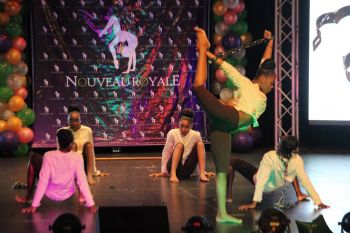 'Next Right Thing or the Next Thing Right', one of the dance items at Eileene L. Parsons Auditorium at H. Lavity Stoutt Community College (HLSCC) in Paraquita Bay, Tortola, where local dance group Nouveau Royale presented a 22-item dance treat on July 6, 2019. Photo: VINO