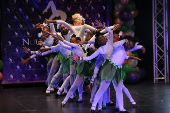 Four Seasons with a Twist (Fall/Autumn), a junior group dance performed at Eileene L. Parsons Auditorium at H. Lavity Stoutt Community College (HLSCC) in Paraquita Bay, Tortola, where local dance group Nouveau Royale presented a 22-item dance treat on July 6, 2019. Photo: VINO
