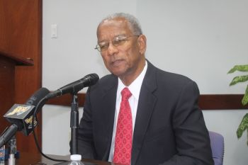 Premier and Minister of Finance Dr the Honourable D. Orlando Smith declined to name who he is in discussions with at Carnival Cruise Line. Photo: VINO