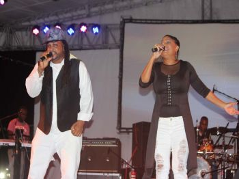 The Final Faze performed a musical mix of reggae and soca. Photo: VINO