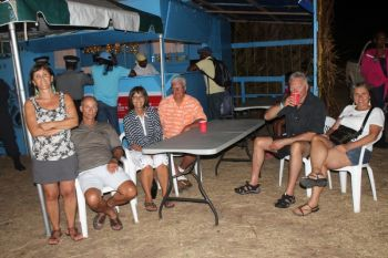 Some of the persons present for the opening ceremony of the Virgin Gorda Easter Festival 2013. Photo: VINO