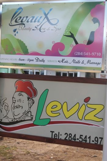 On November 27, 2014 when Mr Levor H. A. Lettsome defied the odds in opening a state-of-the-art salon in East End, he did so with a promise to his patrons that he would not open the snackette 'Leviz' until everything for the efficient functioning of the entity was fully in place.Photo: VINO
