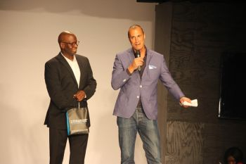 Terry T. Donovan (left) and Nigel Barker. Photo: VINO