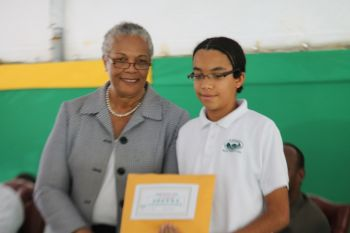 Arbour Day poetry competition winner 13-16 category Robert Poole. Photo: VINO