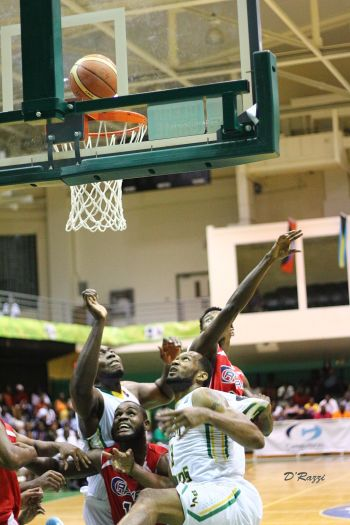 The BVI cruised past the Cayman Islands, 92-78, Tuesday night, June 16, 2015 at the CBC Men's Championship at the Multi-Purpose Sports Complex in Road Town. Photo: Kevin Dawson