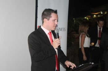 Chief Executive Officer of Digicel BVI, Mr Declan Cassidy said 'Digicel Business' is a separate arm to the company's current operations and focuses on the corporate community of the VI. Photo: VINO