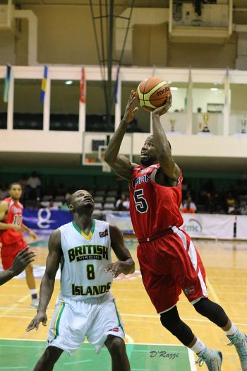 BVI out rebounded their opponents, 53-24, were more disciplined in giving away fouls and picked up more second chance points, 19-9. Photo: Kevin Dawson