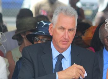 Police Commissioner Michael Matthews is under pressure to clamp down on the gun crimes affecting the territory. Photo: VINO/File