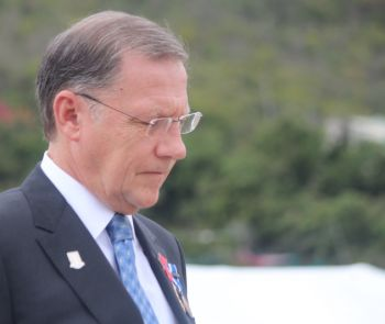Governor of the Virgin Islands, John S. Duncan OBE had embarrassed the National Democratic Party (NDP) Administration by saying they were 'reckless in spending and has no priority.' Photo: VINO/File