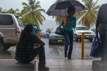 Strengthening as it churns over the warm waters of the Eastern Caribbean, Tropical Storm Dorian—which could intensify to near hurricane strength by Tuesday, August 27, 2019—has already wreaked some economic havoc in the Virgin Islands (VI) and the region. Photo: Internet Source/File