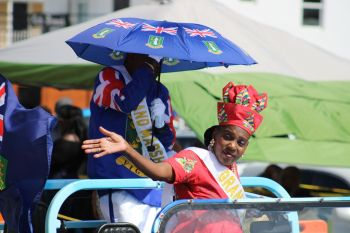 Grand Marshall of the August Monday Parade, Yvonne Mathavious. Photo: VINO