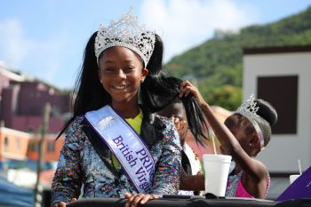 2019 Virgin Islands Emancipation Festival Princess, E'ssense Hodge-Julian. Photo: VINO