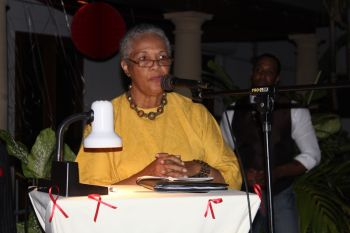 Acting Governor Mrs V. Inez Archibald thanked the HIV/AIDS Foundation for its noble efforts and said there was much wisdom in the multi-sector approach to its fundraising as no entity could do it alone. Photo: VINO