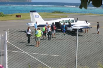 The Virgin Gorda Airport was reopened shortly after 1 P.M. on December 1, 2013. VINO