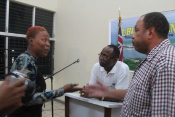 Members of the media had fielded the question to Hon. Julian Fraser RA about the matter of expelling students. Photo: VINO