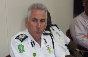 Commissioner of Police Michael 'Mick' Matthews said he will rely on guidance from a UK Police Policy on naming of arrested persons to determine whether the Royal Virgin Islands Police Force (RVIPF) will continue sending out arrest blotters minus names of arrested persons. Photo: VINO