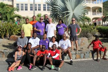 The Rotary Club of Tortola came out to begin the defense of their title. Photo: HLSCC