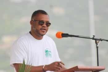 Acting Permanent Secretary in the Premier's Office, Mr Brodrick Penn said the cost for the construction of the QE II Park is in the vicinity of $1.8M. Photo: VINO