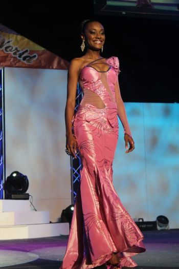 3rd runner-up Miss St Lucia – Joy Ann Biscette. Photo: VINO