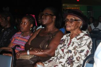 Even the elderly came out to enjoy the show and support their favourite. Photo: VINO