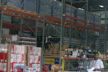 A section of the wholesale department at Caribbean Cellars. Photo: VINO