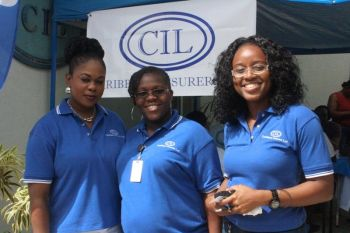 CIL staff members who assisted in making the health screening exercise a smooth flow. Photo: VINO