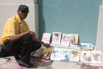 The activity also presented an opportunity for Mr Rodwell Anderson to sell some books on healthy living on behalf of the Seventh Day Adventist Church. Mr Anderson told Virgin Islands News Online that he heard about the screening and thought it would have been a good idea to show up to let people know about the many books on how to live healthy the natural way. Photo: VINO