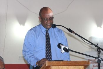 """Minister for Health and Social Development, Hon. Ronnie W. Skelton said he found the report as a troubling one. """"These findings have significant implications for the society at large and should be addressed with urgency by all relevant stakeholders."""