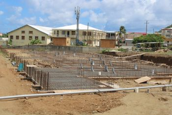 Work on the FIFA-funded stadium in East End/Long Look on Tortola will resume after the hurricane season. Photo: VINO