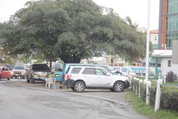 According to Mrs Karia J. Christopher there may be a few vendors under special circumstances that will remain in the Town at certain locations. Photo: VINO