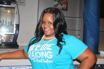 Ms Felicia A. Tonge is the owner of Elite Braiding and Nail Salon, Paraquita Bay. Photo: VINO