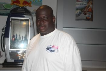 Mr. Kadeem S. Maynard of Big Tymers Trucking Service. Photo: VINO