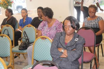 Some members of VICSA among the scant audience. Photo:VINO