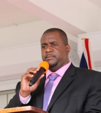 Premier and Minister of Finance, Honourable Andrew A. Fahie (R1), on his return from the United Kingdom in September 2019, had stated it was shocking to learn that the opportunity to access grants following the 2017 disasters was not taken up by the previous administration. Photo: VINO/File