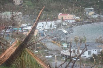 With the passing of the Bill 'Virgin Islands Recovery and Development Agency Act 2018', the Territory has moved a step closer to benefiting from loan guarantees offered by the United Kingdom as the Territory seeks to borrow monies to rebuild following the destruction of hurricanes Irma and Maria in September 2017. Photo: VINO/File