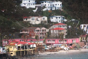 The United Kingdom (UK) has pledged over $400M in loan guarantees and grants for the Virgin Islands, which was struck by two category 5 hurricanes in September 2017, but have set some strict rules for the VI Government, including that it sets up an independent agency that will manage the hurricane recovery loans. Photo: VINO/File